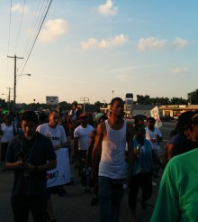 My Night in Ferguson, Missouri