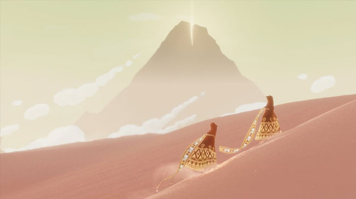 Smaller, independent titles such as Journey prove that violence doesn't always have to be included to make a game popular or sell well.