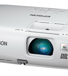 Epson PowerLite Home Cinema 750HD 3LCD Projector