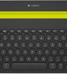 Popzara Podcast E5.01 Logitech Talks K480 Bluetooth Keyboard