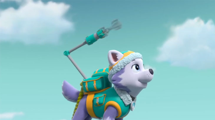 Paw patrol meet everest dvd review on popzara