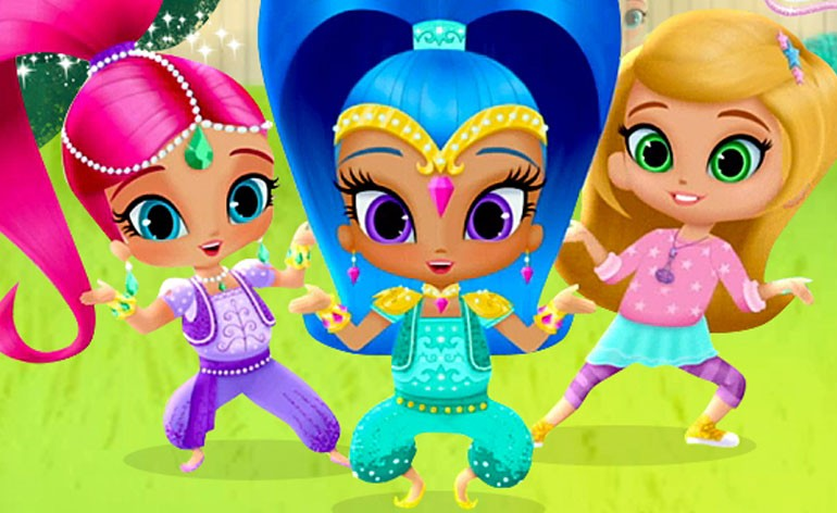 Shimmer and shine dvd review on popzara