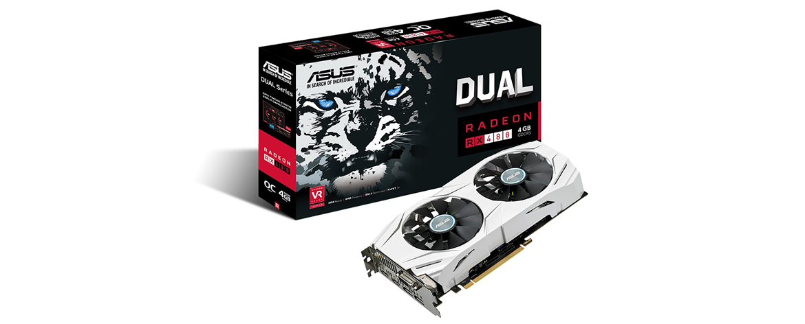 ASUS Radeon RX 480 Dual OC Graphics Card DUAL-RX480-O4G  Computer Review on Popzara