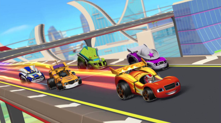 blaze and the monster machines race into velocityville dvd review on popzara. Black Bedroom Furniture Sets. Home Design Ideas