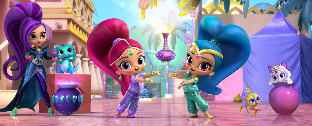 Shimmer and Shine: Friendship Divine (DVD)