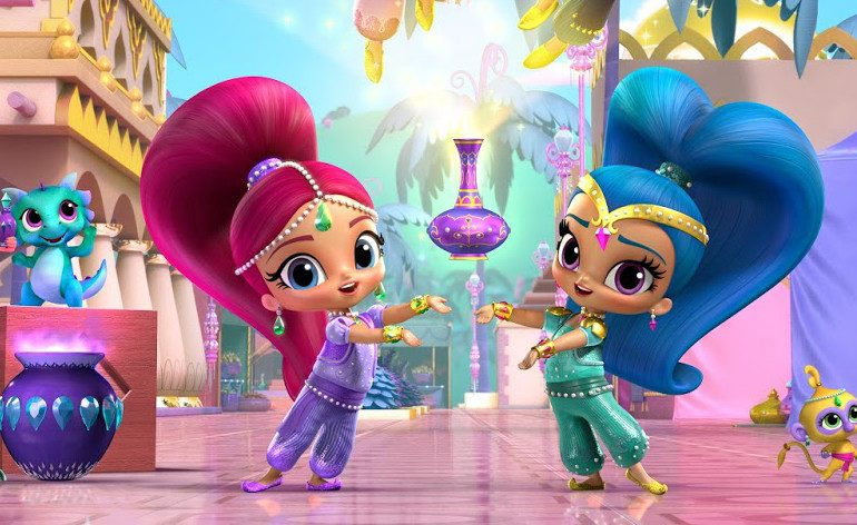Shimmer And Shine Friendship Divine Dvd Review On Popzara