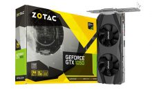ZOTAC GeForce GTX 1050 Low Profile Graphics Card