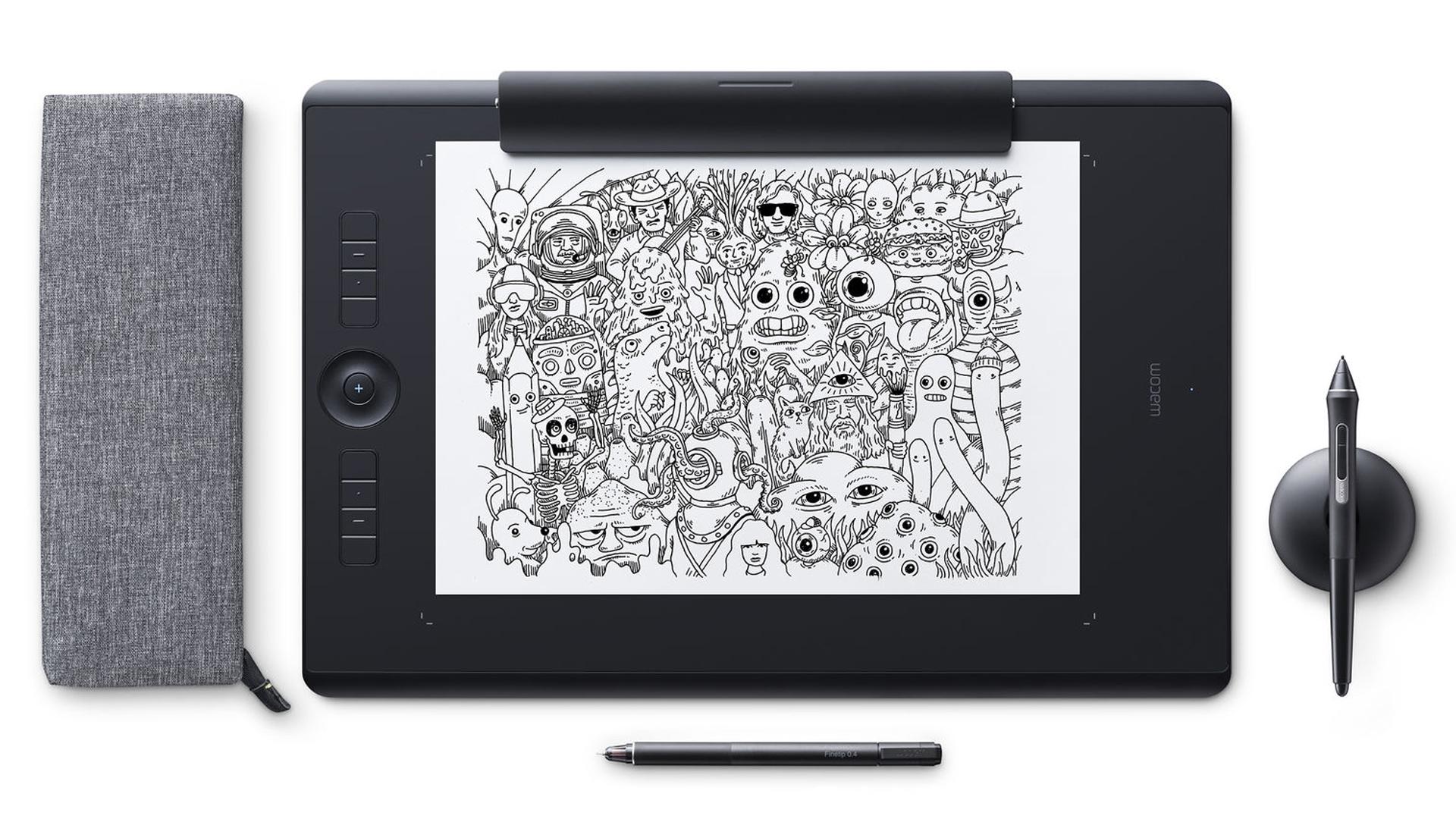 Wacom Intuos Pro Paper Pen Tablet Gadget Reviews | Popzara Press