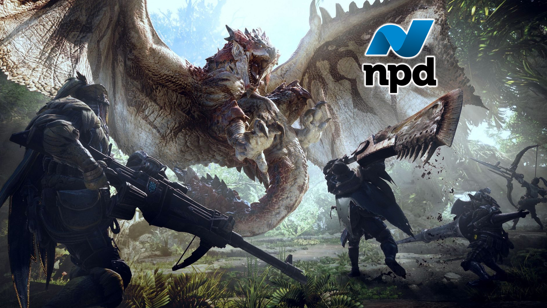 NPD January 2018 Gaming Estimates and Analysis: Monster Hunter Shatters Records