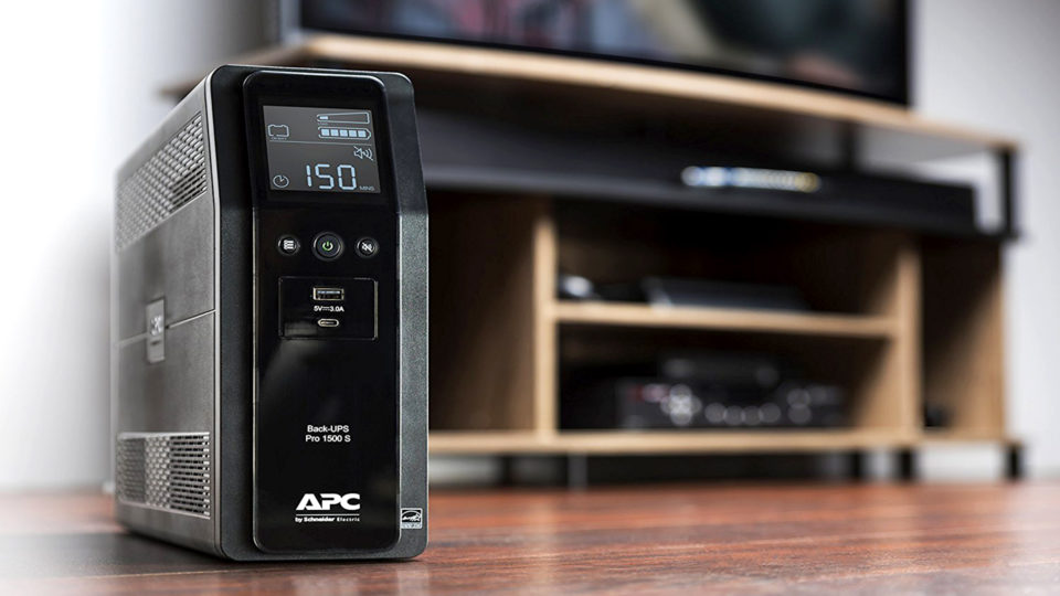 APC Back-UPS Pro 1500VA Sinewave Battery Backup & Surge Protector