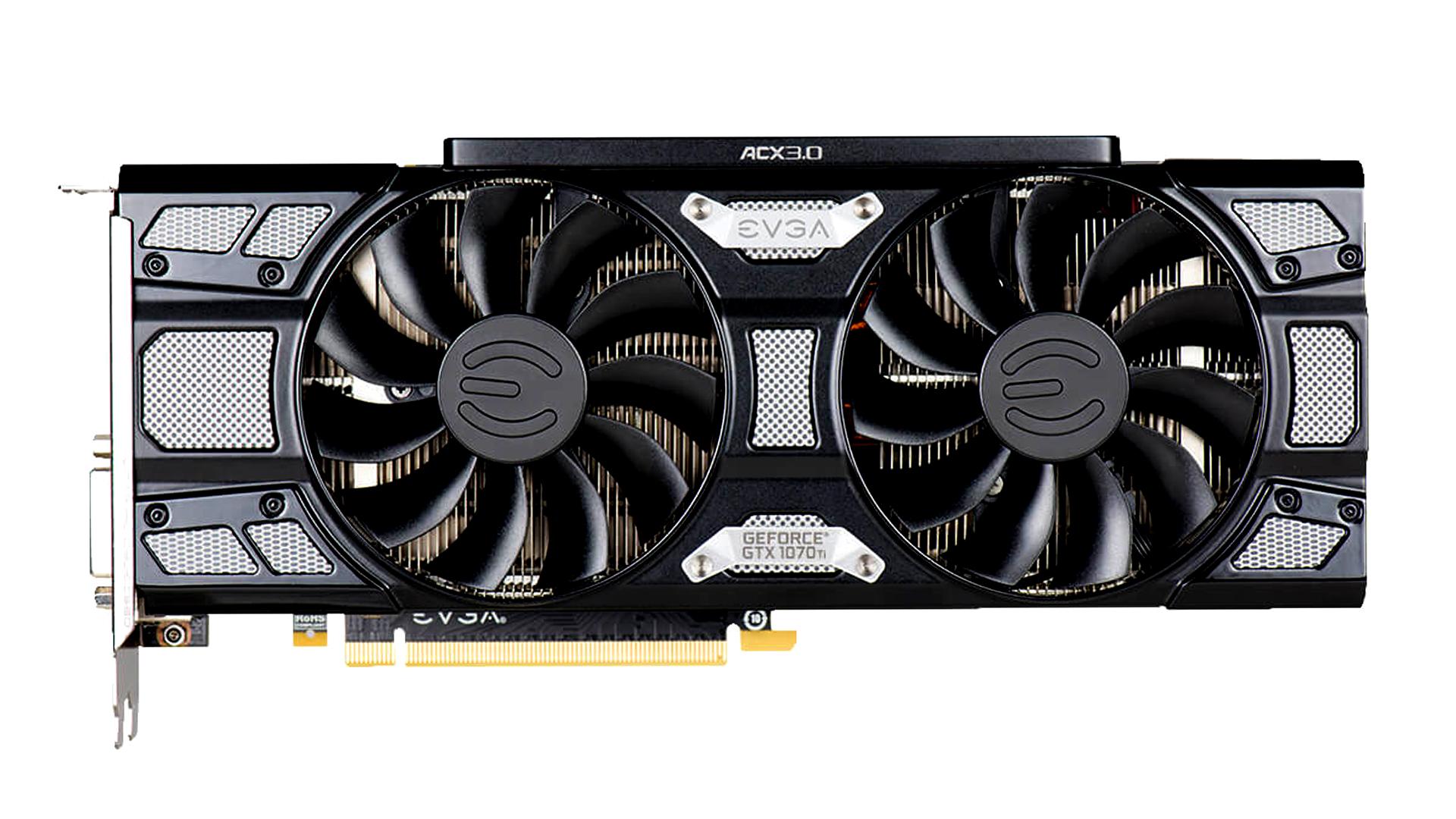 EVGA GeForce GTX 1070 Ti SC GAMING Black Edition Graphics Card