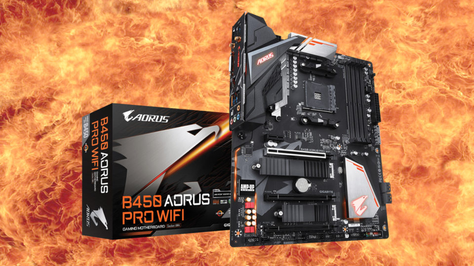 Gigabyte AORUS B450 PRO WiFi Motherboard