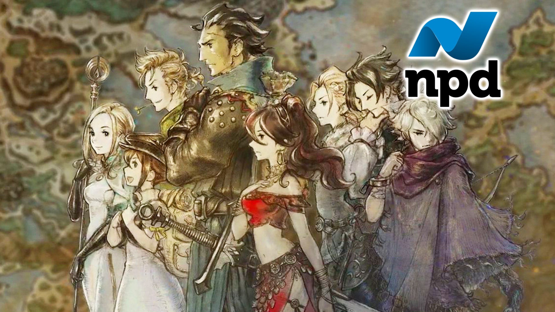 NPD July 2018 Gaming Estimates and Analysis: Follow the Octopath