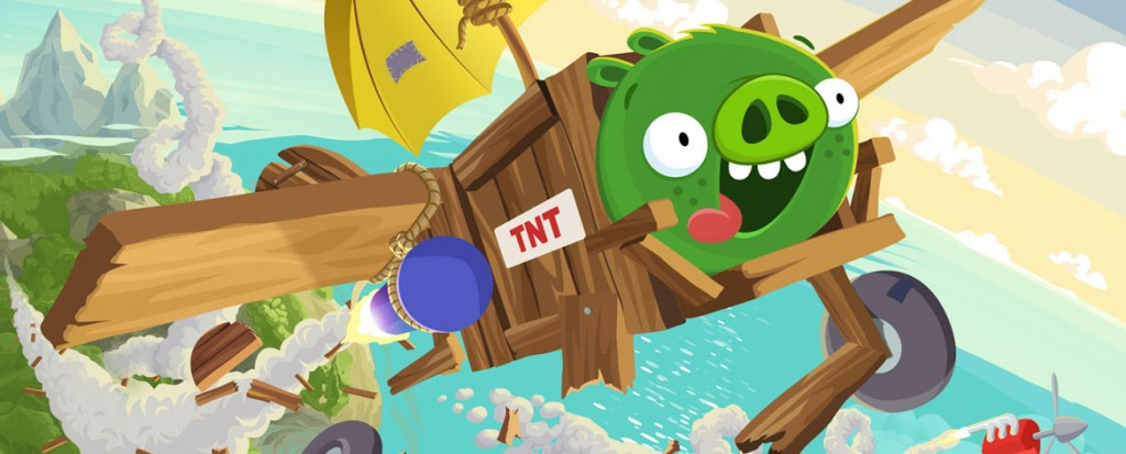 Bad Piggies (iOS, Android)