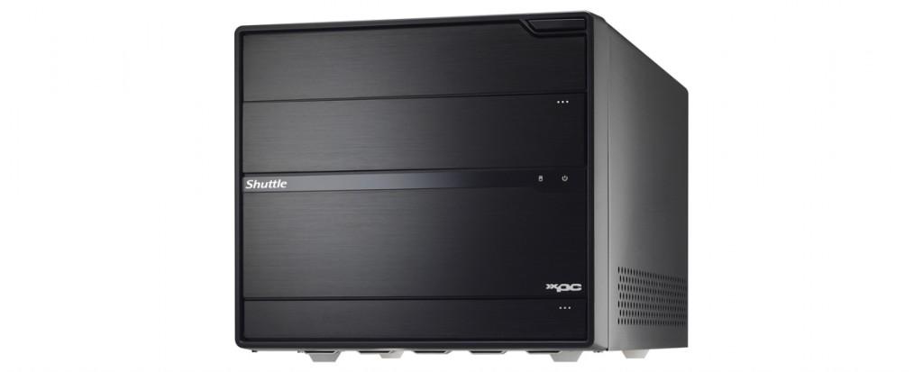 Shuttle XPC Barebone Desktop Case SZ77R5
