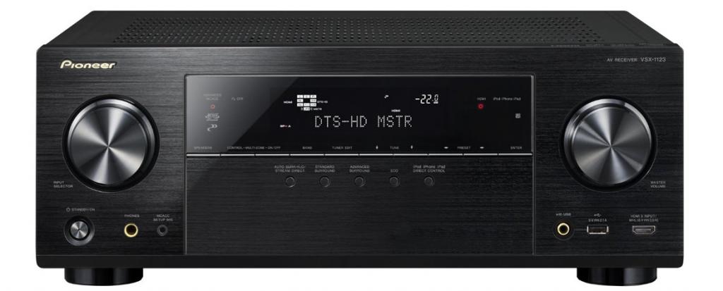 Pioneer VSX-1123-K Network AV Receiver