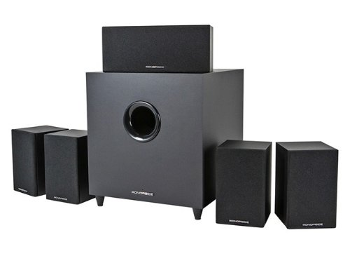 Monoprice Premium 5.1-Ch. Home Theater System with Subwoofer