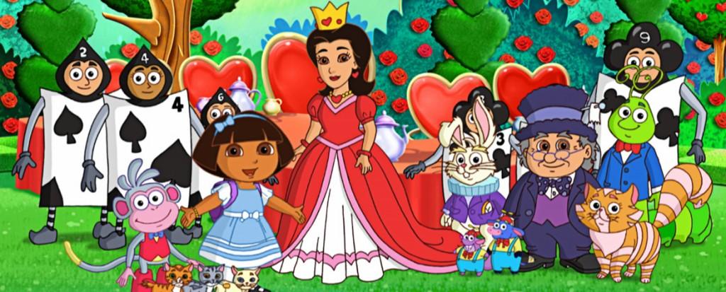 Dora in Wonderland (DVD)