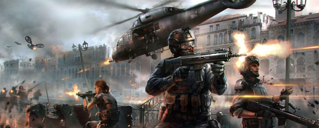 Modern Combat 5: Blackout (iOS)