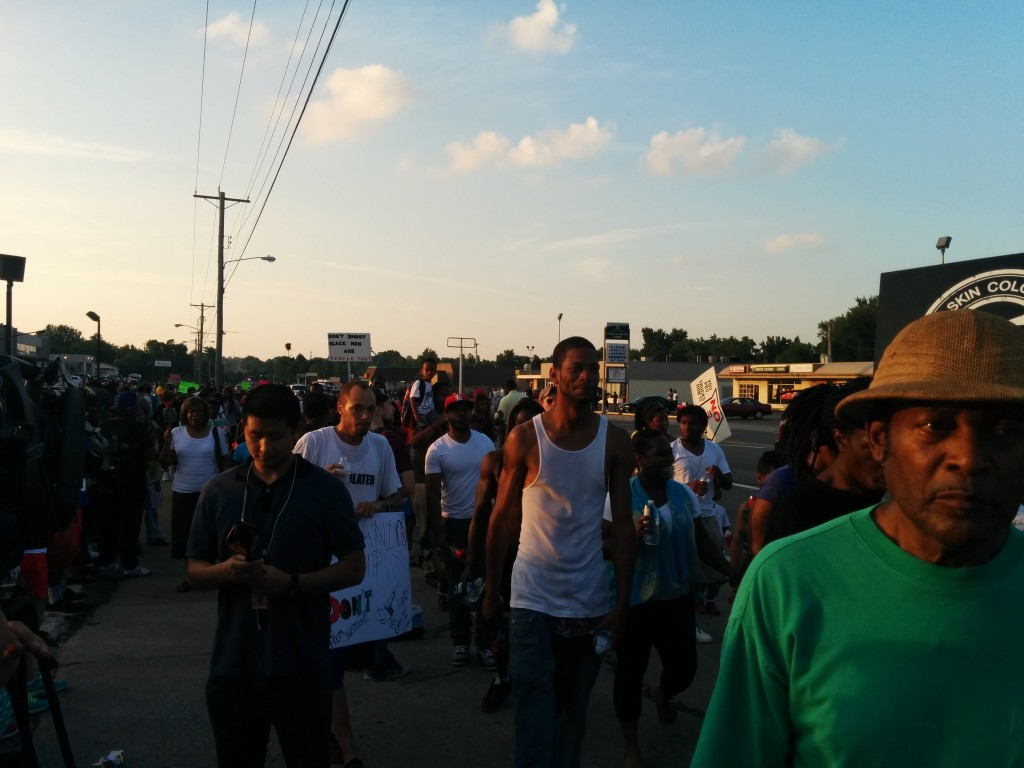 My Night in Ferguson, Missouri