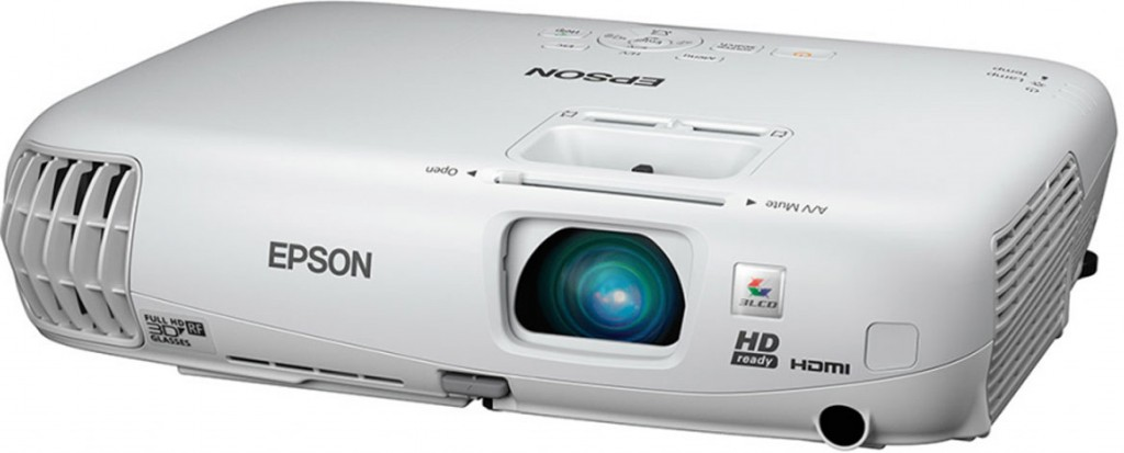 Epson PowerLite 750HD LCD Projector