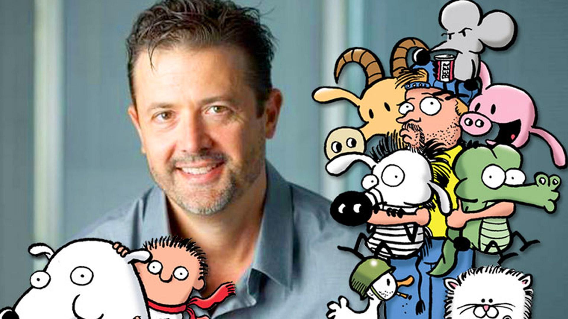 Cartoonist Stephan Pastis Talks Pearls, Timmy Failure