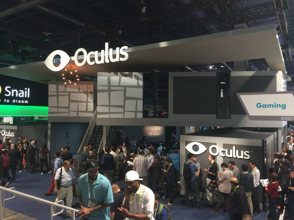 CES 2015: Oculus Rift (Crescent Bay) Hands And Eyes-On