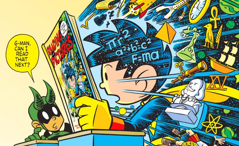 Cartoonist Josh Elder Talks Reading With Pictures, Literacy