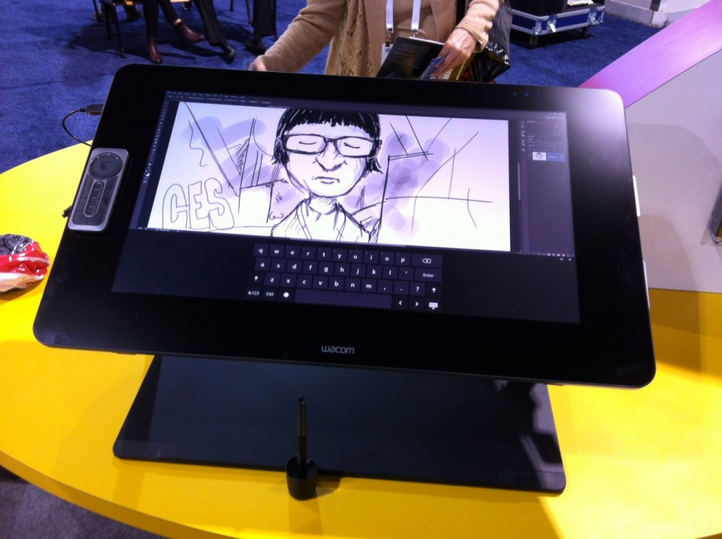 CES 2015: Wacom Cintiq Displays Get Bigger, Better