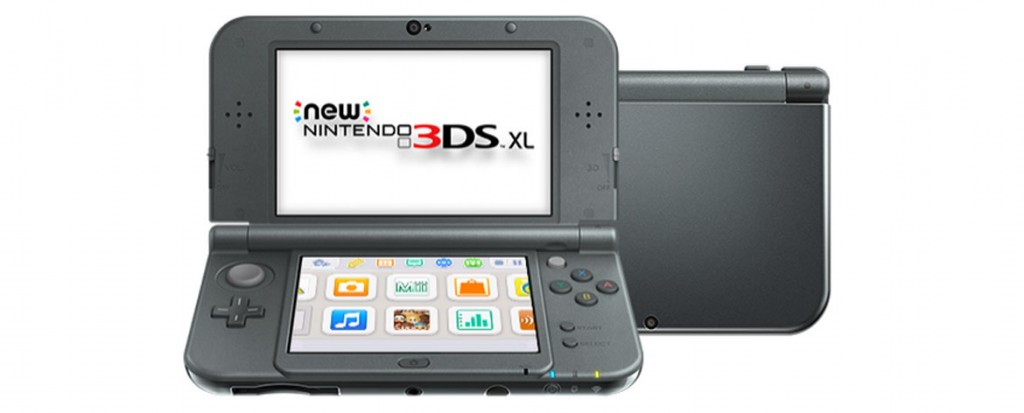 Nintendo New 3DS XL Portable Gaming Console