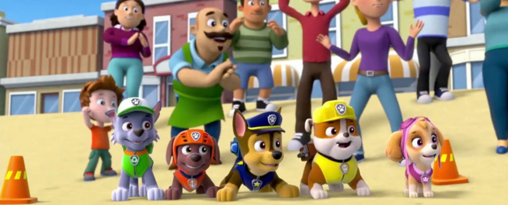 Paw Patrol: Marshall and Chase On The Case (DVD)