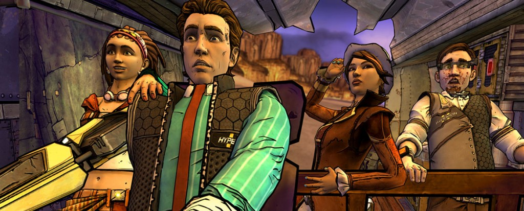 Tales from the Borderlands: Atlas Mugged (PS4, Xbox One, PC, iOS)