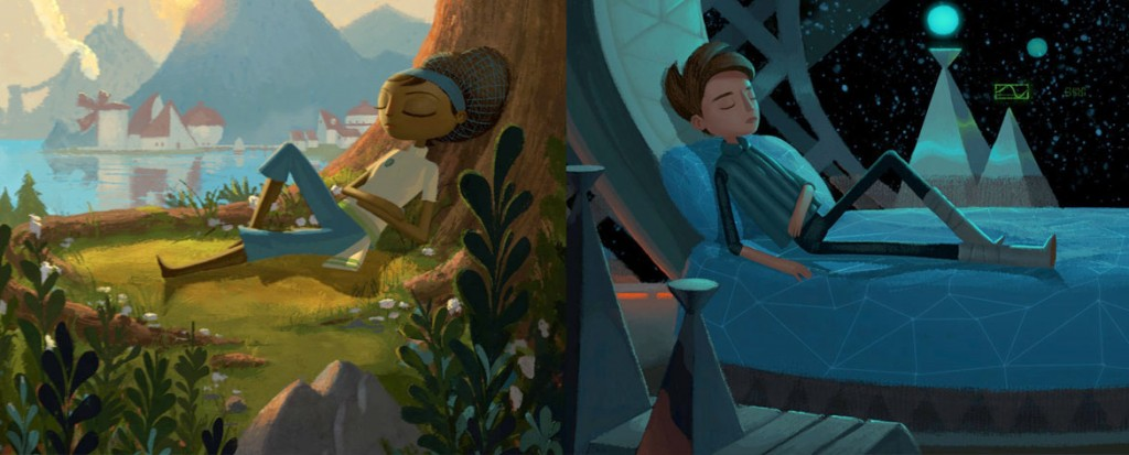 Broken Age (Steam, PS4, iOS, Android)