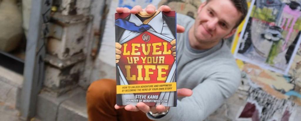 Popzara Podcast E.124 Steve Kamb Talks Nerd Fitness + Leveling Up Your Life