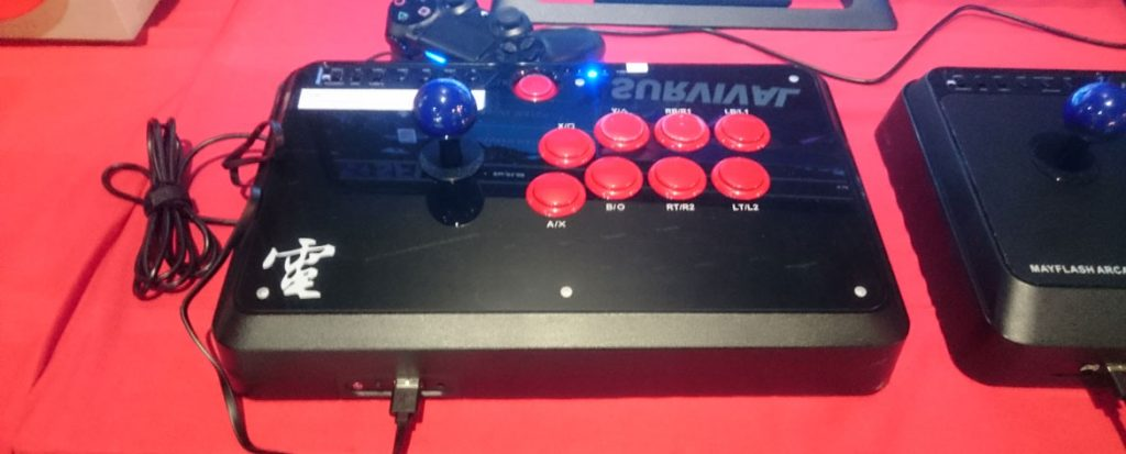 E3 2016: Mayflash F500 Arcade Fighting Stick Impressions