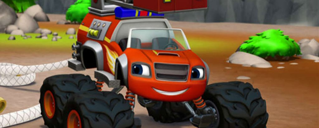 Blaze and the Monster Machines: Fired Up (DVD)