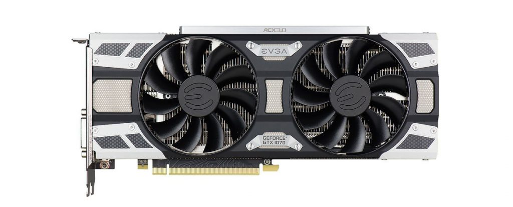EVGA GeForce GTX 1070 SuperClocked GAMING ACX 3.0 Graphics Card