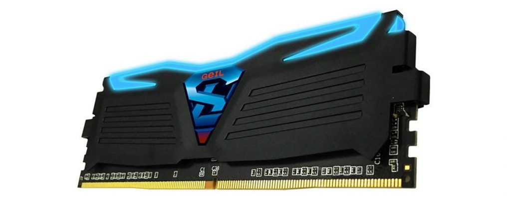 GeIL SUPER LUCE DDR4-2666 32GB Dual-Channel Kit