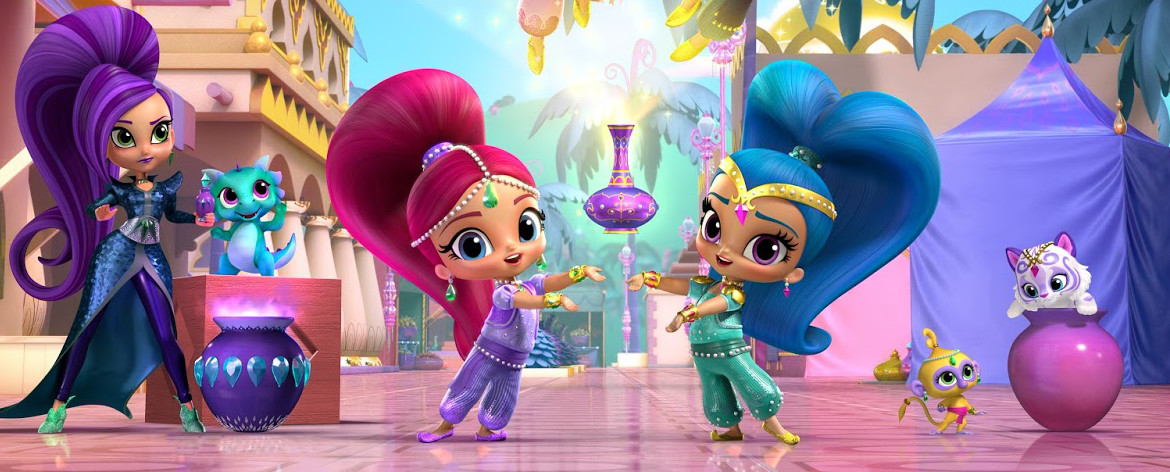 Shimmer And Shine Friendship Divine Dvd Blu Ray Dvd