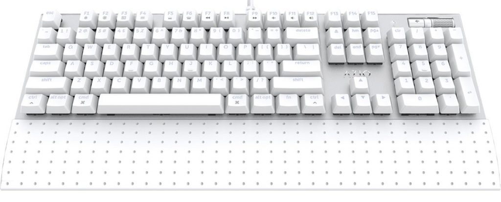 Azio Mk Mac Wired Backlit Mechanical Keyboard