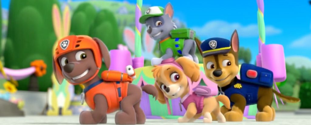 PAW Patrol: Pups Save the Bunnies (DVD)