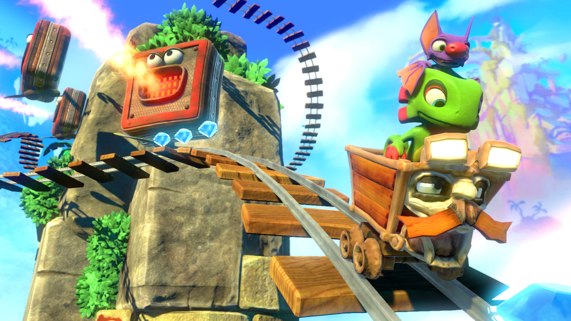 Yooka-Laylee: Nostalgia for the Nintendo Nineties