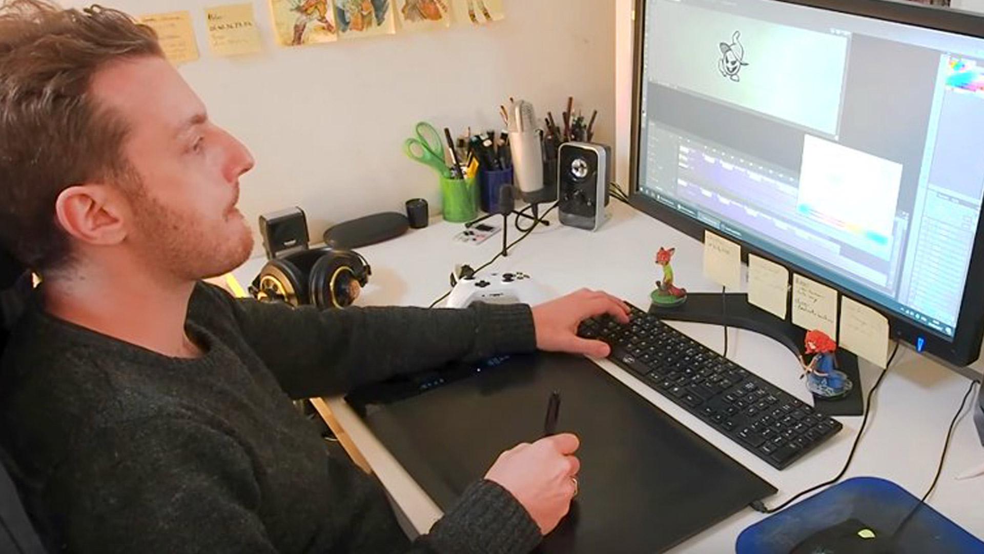 Artist Ben Fiquet Talks Remaking Wonder Boy, Animation Love