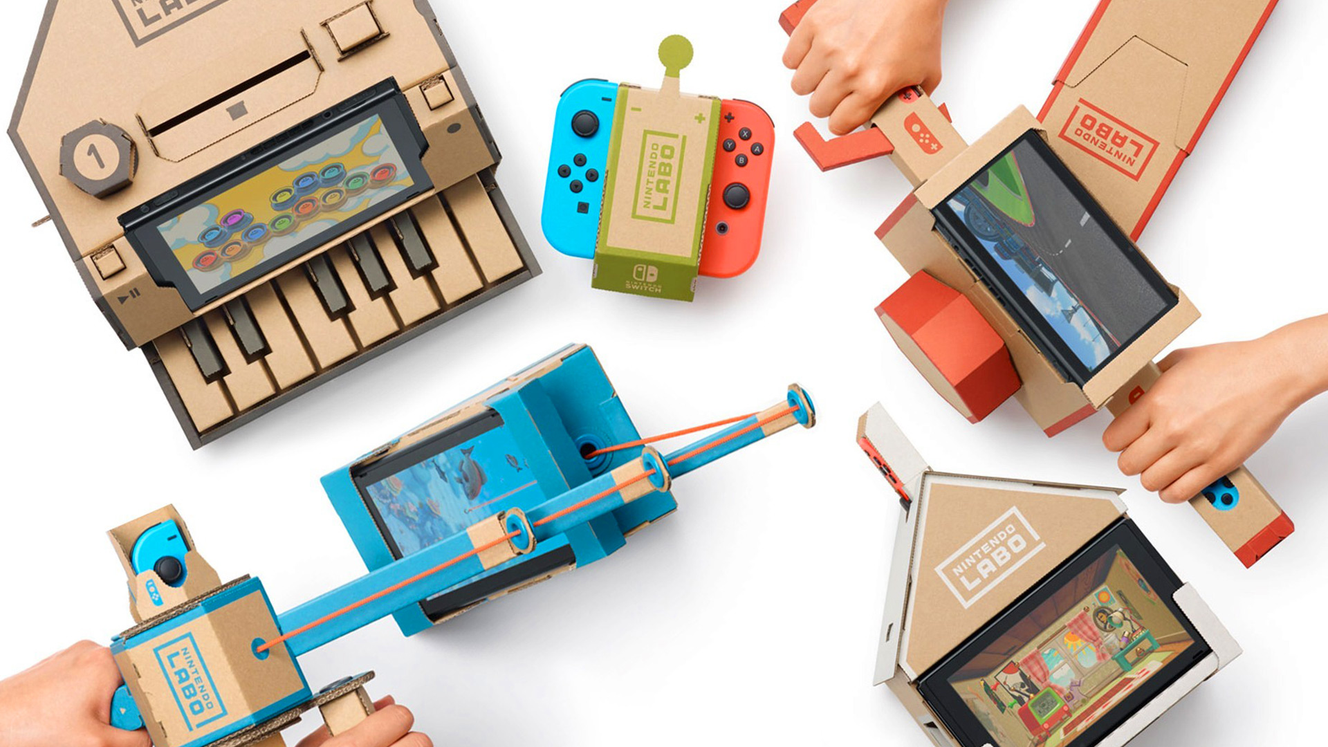Nintendo Labo: The Future is Cardboard