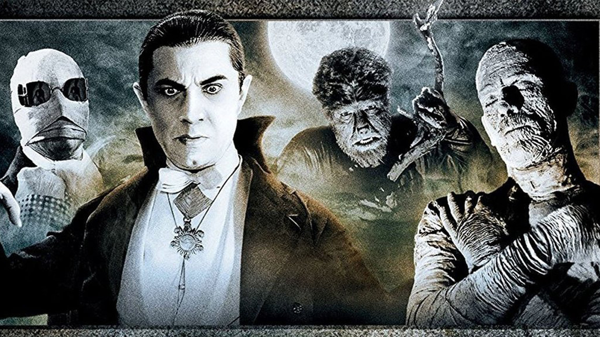 Universal Classic Monsters Complete 30 Film Collection Blu Raydvd