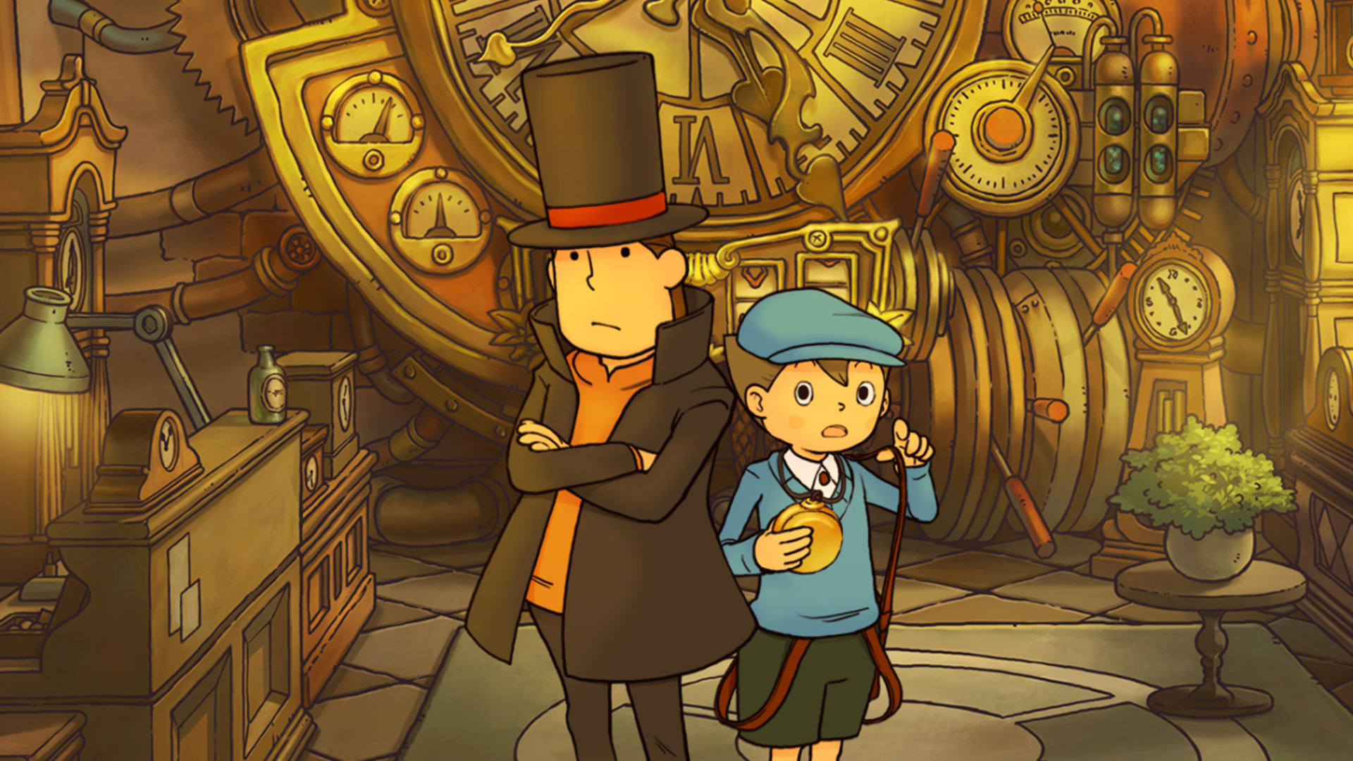Professor Layton and the Curious Village