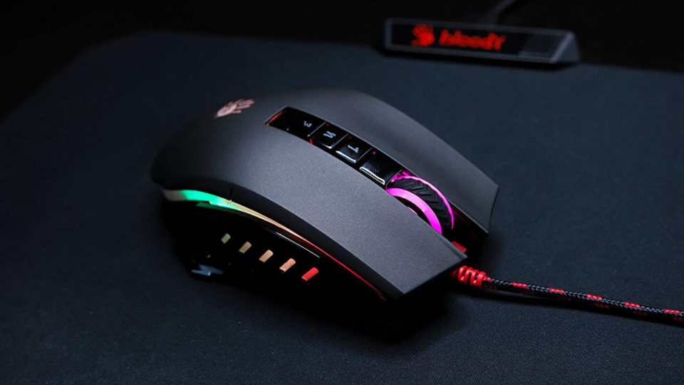 Bloody Gaming P85 Light Strike Optical Gaming Mouse