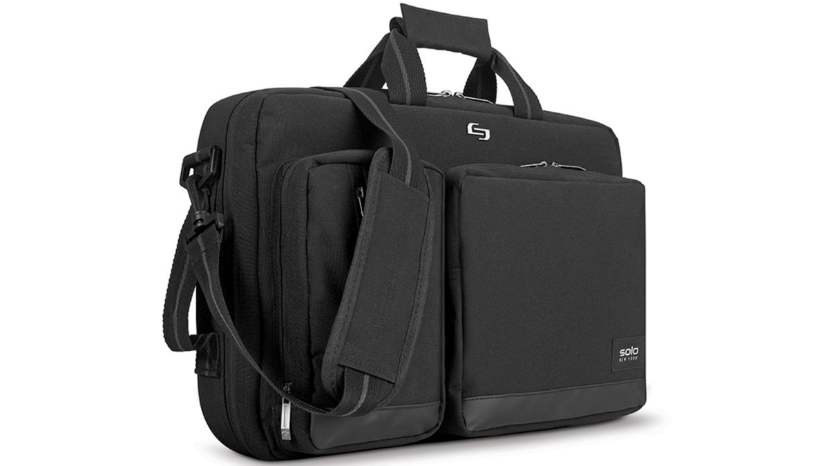 Solo Duane Hybrid Briefcase Backpack