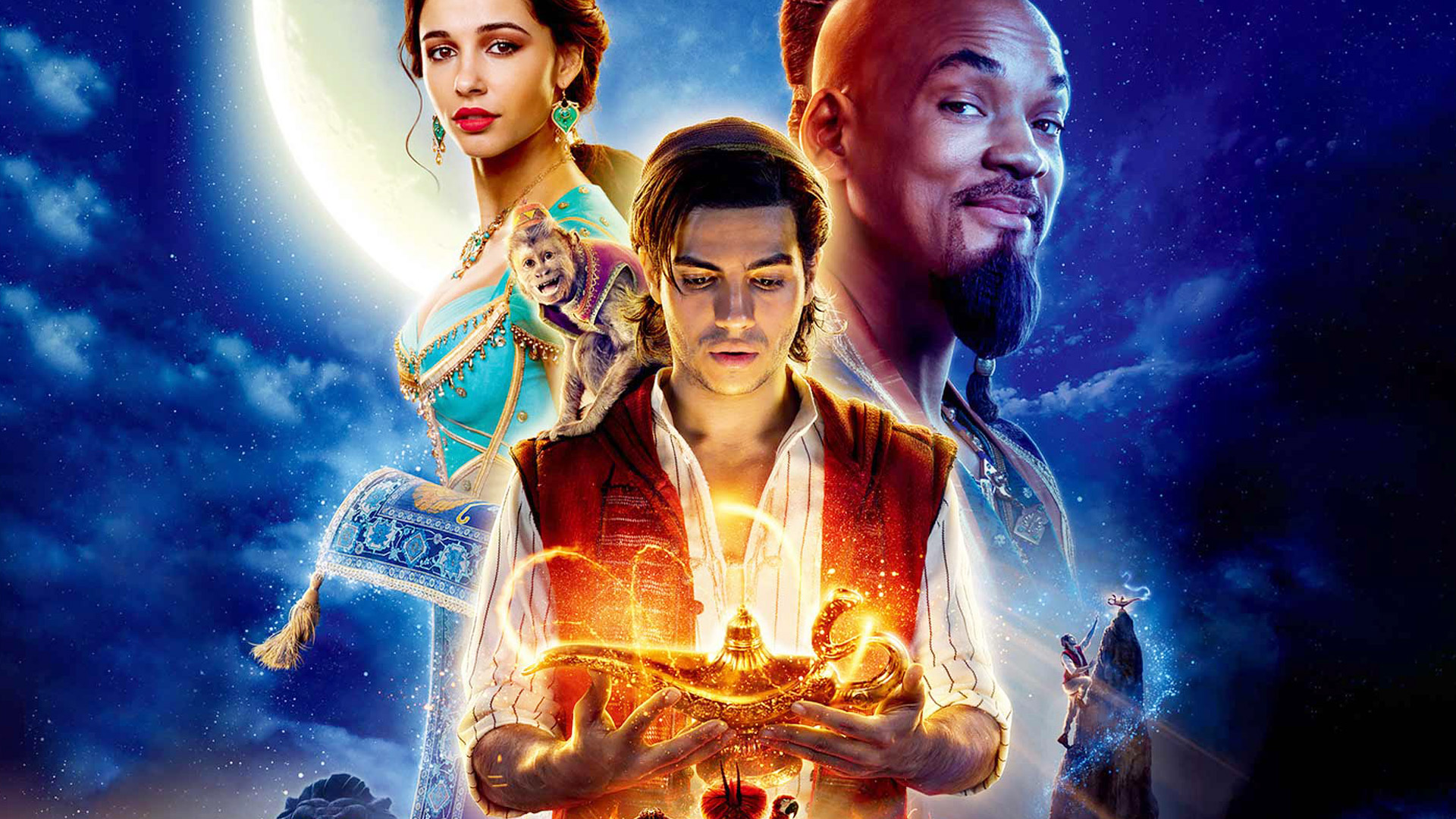 Movie Poster 2019: Aladdin (2019) Movie Reviews