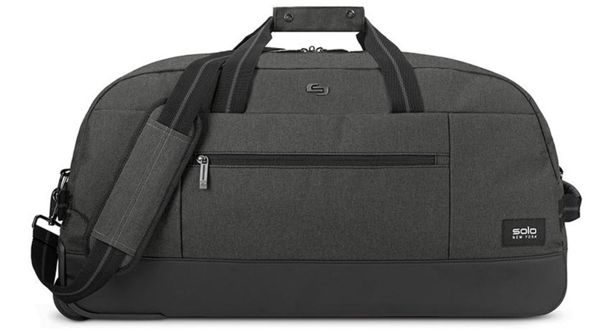 Solo New York Avenue C Rolling Duffel Bag